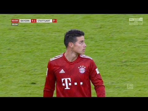 JAMES RODRIGUEZ vs STUTTGART (Home) - (27/01/2019) HD