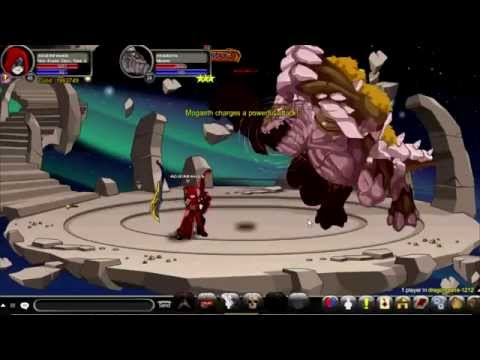 AQW solo mongath with horc evader