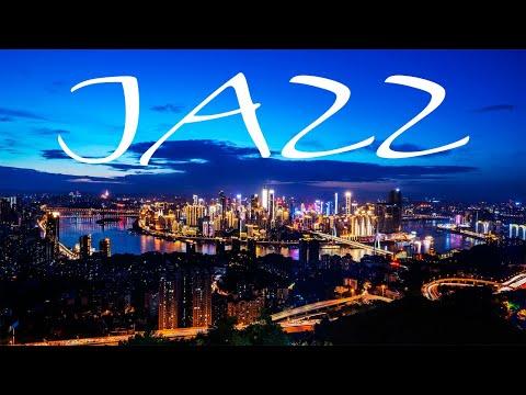 Summer Night JAZZ - Exquisite Saxophone JAZZ &  Night City - Night Traffic JAZZ