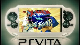PS Vita PSP Hacks! X-Men Vs Street Fighter Homebrew!