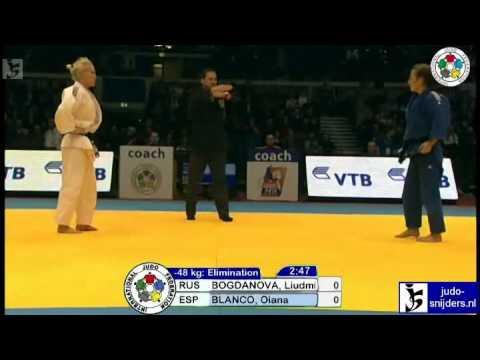 Liudmilla Bogdanova (RUS) - Oiana Blanco (ESP) [-48kg]