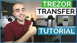 How To Transfer Bitcoin From Trezor To Coinbase | Trezor Transfer Tutorial