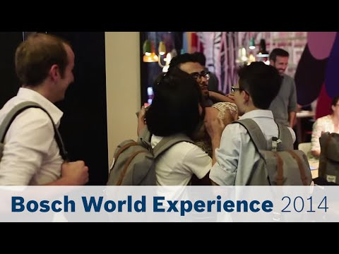 Bosch World Experience 2014 - 16 exciting days, exclusive insights and true friendships.