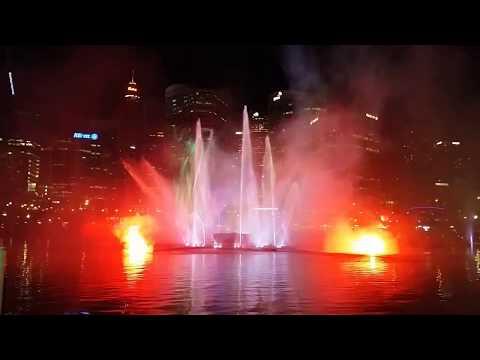 Sydney Vivid Festival Darling Harbour