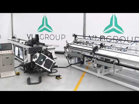 FULLY ELECTRIC CNC TUBE BENDER ROTATIVE HEAD | EB-RH SERIES - with Automatic Loading and Unloading