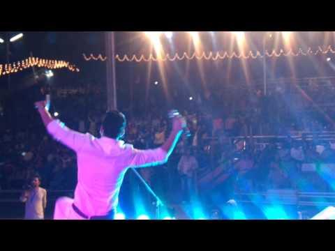 Kulwinder billa singing antenna (very first time) at international kullu dushera ...Sur events