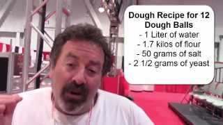 Jonathan Goldsmith: How To Make Neapolitan Pizza Dough, Pizza!