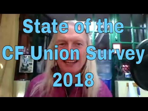State of the CF Union Survey 2018 is live - Day 68 #90DayVideoChallenge