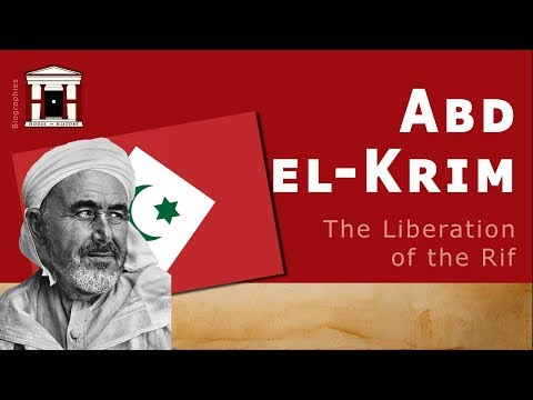 Life Of Abd El-Krim   The Legend And Liberation Of The Rif (Biography)