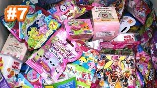 Random Blind Bag Box Episode #7 - Shopkins Plush, Pusheen, Lalaloopsy, Playmobil, Shopkins Season 4