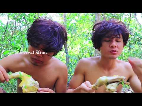 Cooking Yummy Chicken Soup in Forest By Two Brother