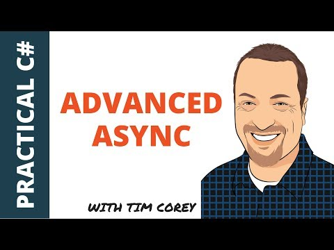 C# Advanced Async - Getting progress reports, cancelling tasks, and more