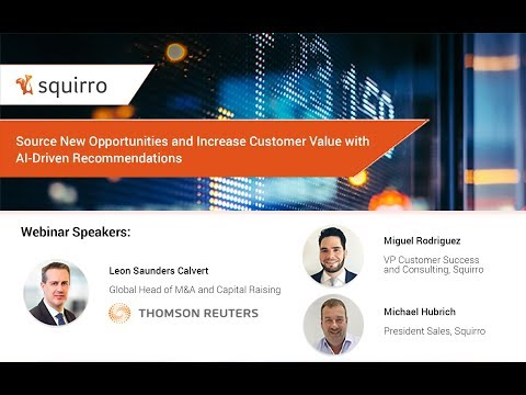 Financial Services Webinar: Source New Opportunities and Increase Customer Value with AI