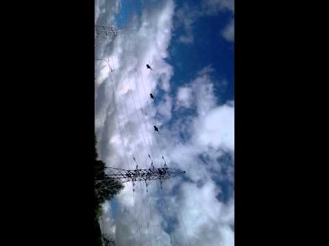 В небе Южно-Сахалинска