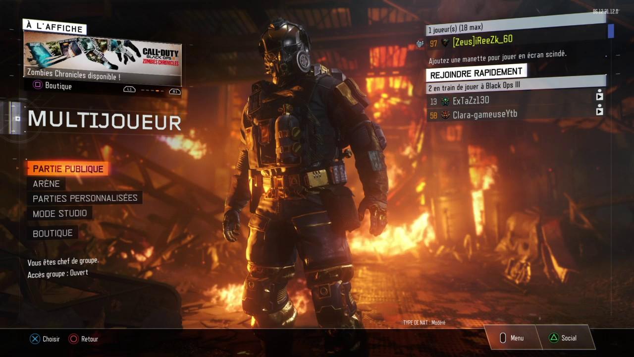 Carte Black Ops 3.Comment Regler Le Probleme De Carte De Visite Embleme Bo3