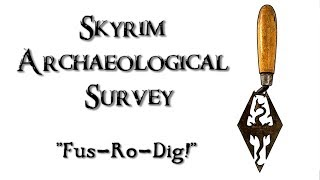 Skyrim Archaeological Survey: Research: Reading -