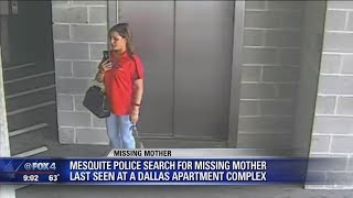 Police looking for missing Mesquite mom last seen in Dallas