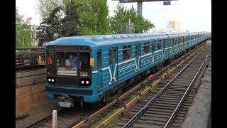 Ретро-подстёкольник: ретро-поезд из вагонов 81-717.5М/714.5М
