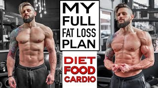 MY SCIENCE BASED FAT LOSS DIET + How To Create Your Own | Full Days & Food Macros Shown