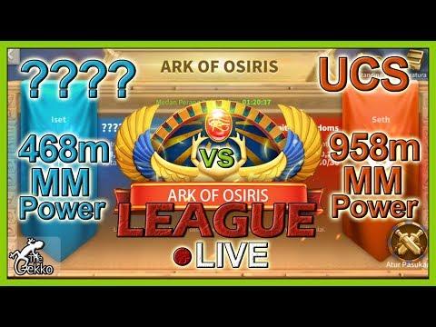 Repeat Ark Of Osiris League - TGS K16 (656m) VS Jed K92