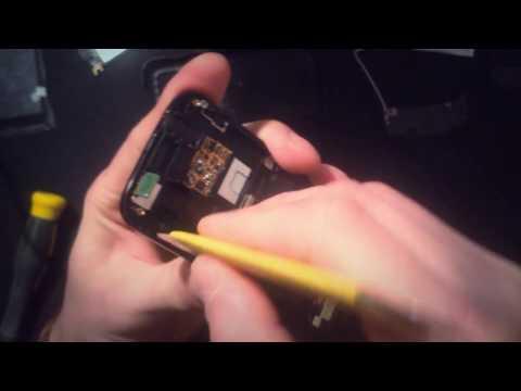 Samsung S8000 Jet - разборка, замена тачскрина (сенсора)