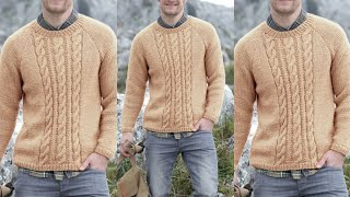 Woolen sweaters design for men/Hand made swearter for men/Knitting designs/New woollen sweater