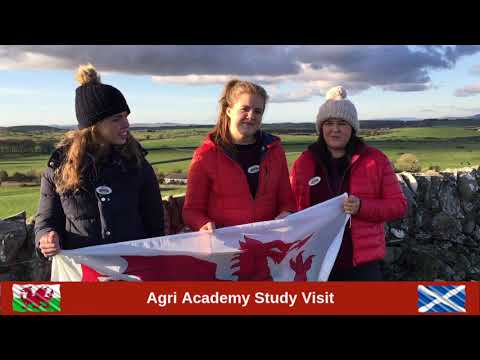 Agri Academy Junior Programme Study Tour - south west Scotland