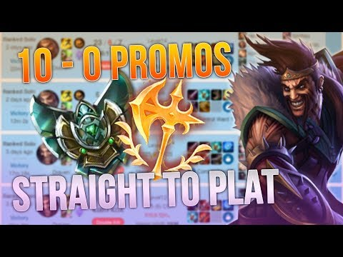 STOMPING EVERY ELO WITH DRAVEN (League of Legends) thumbnail