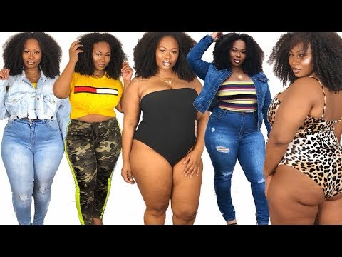 FASHIONNOVACURVE try-on haul/ FT, PLUS SIZE DENIM!. http://bit.ly/2WCYBow