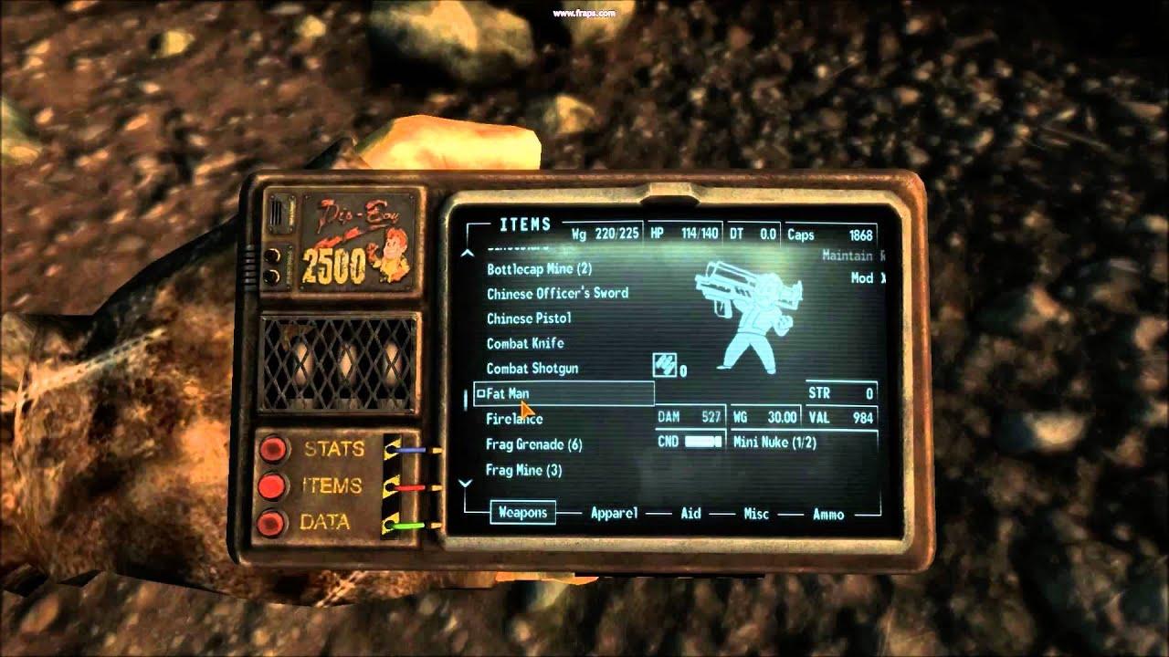 Fallout 3 - Firelance Encounter - Map in description - YouTube on