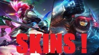Novas Skins - Arcade Hecarim e Riot Blitzcrank