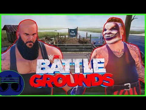 "Braun Strowman vs The Fiend ""Swamp Fight"" - WWE 2K Battlegrounds  "