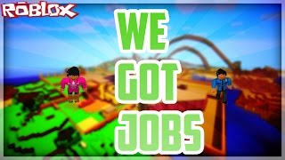 I GOT A JOB | Roblox | Ish, Olivia, Ryan ft. Aly