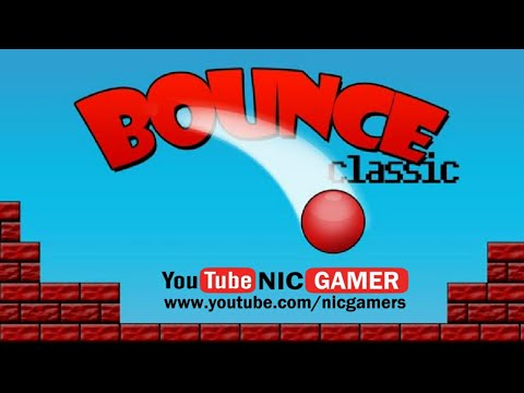 Bounce Classic Game: Enjoy Excitement Of Red Bouncing Ball