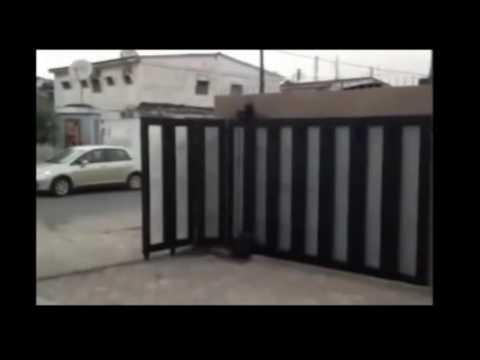 Automatic Sliding Folding Gate Youtube