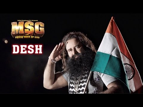 Desh | New Full Song Video | MSG: The Messenger of God