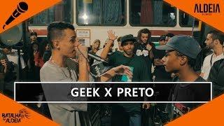 Geek x Preto   134ª Batalha da Aldeia   Barueri   SP