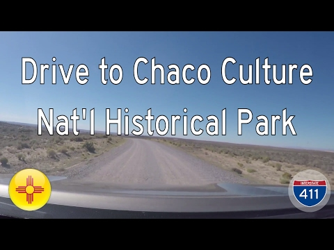 Drive to Chaco Culture National Historical Park in New Mexico | Drive America's Highways 🚙