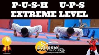 Extreme Martial Arts Chandigarh - Extreme Push-Ups