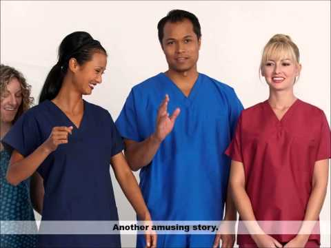 Behind the Scenes Access -- Scrub Catalog Photo Shoot by Fashion Seal Healthcare