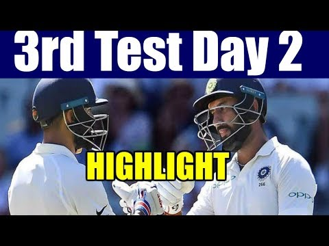 India Vs Australia - 3rd Test Day 2 Highlight | IND Vs AUS | Cricket Live Score