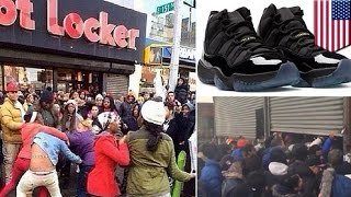 Air Jordan 11 release sparks more fighting over expensive sneakers