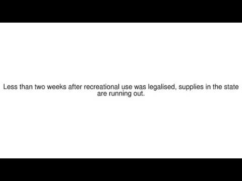 News Update Nevada 'emergency' over lack of marijuana 12/07/17