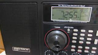 DIGITECH Audio AR-1945 7255kHz Voice of Nigeria (Presumed)