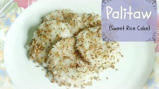 Palitaw (sweet Rice Cake)