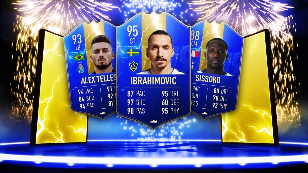 INSANE TOTS CARDS ARE HERE! - FIFA 19 Ultimate Team #TOTS thumbnail