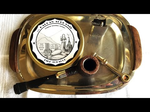 """Pipe Tobacco Review: """"The Balkan Sobranie"""" by J.F. Germain & Son"""