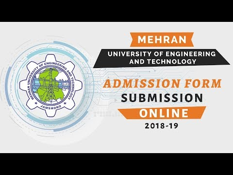 Muet Admission Form Online Registration | Mehran University Of Engineering And Technology