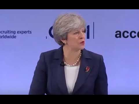 Theresa May's speech to the CBI 2017 conference