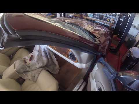 Jaguar XK8 Convertible Top Repair PART1